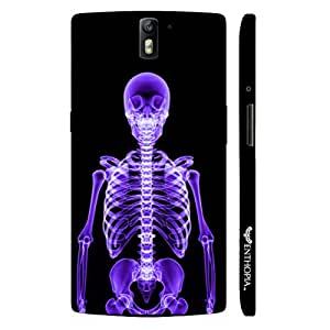 One plus One X-Ray Yourself designer mobile hard shell case by Enthopia