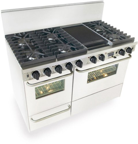 Double Oven Electric Range White