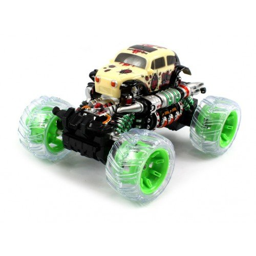 Electric Full Function 1:20 Volkswagen Beetle 4WD Monster Truck RTR RC Car Remote Control w/ Rechargeable Batteries (Colors May Vary)