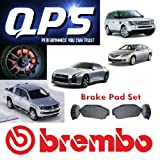 VW NEW BEETLE (9C1, 1C1) 1.9 TDI Brembo Front Brake Pads 01/98 ->