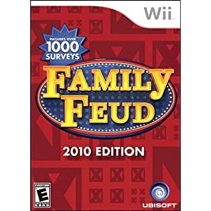 Family Feud 2010 Edition(Wii Version)