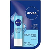 Nivea a Kiss of Smoothness Hydrating Lip Care SPF 15 -- 0.17 Oz