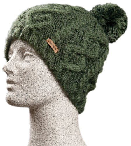 Discrete Women's Splay Beanie