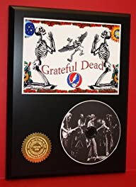 Grateful Dead Limited Edition Picture Disc CD Rare Collectible Music Display ***FREE USA PRIORITY…