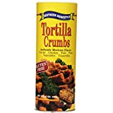 Southern Homestyle Tortilla Crumbs, Gluten Free, 12-Ounce Cans (Pack of 6)