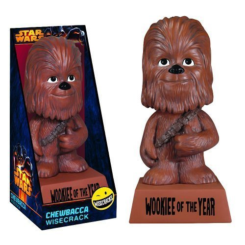 Chewbacca: WOOKIEE of the YEAR - Funko Wisecracks Bobble-Head Figure - 1