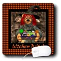 3dRose LLC 8 x 8 x 0.25 Inches Mouse Pad, Little Kitchen Witch (mp_34146_1)