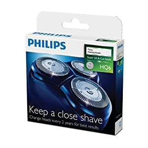 Philips HQ6/50 Lift & Cut - Cabezales para afeitadora