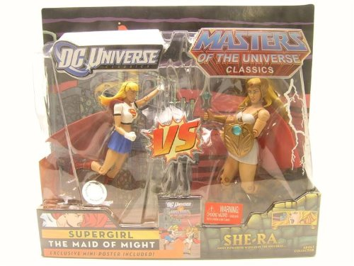 Picture of Mattel DC Universe & Masters of the Universe Classics Exclusive Action Figure 2Pack Supergirl VS She-Ra (B005FTWXTC) (Mattel Action Figures)