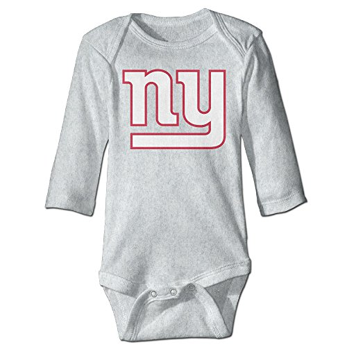 HOHOE Babys NY Giant Long Sleeve Jumpsuit Outfits Ash 6 M