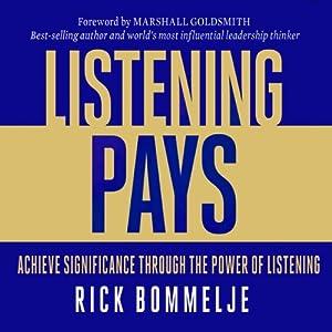 Listening Pays Audiobook