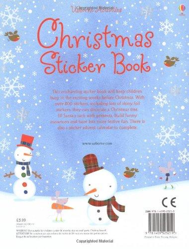Christmas Sticker Book (Usborne Sticker Books)