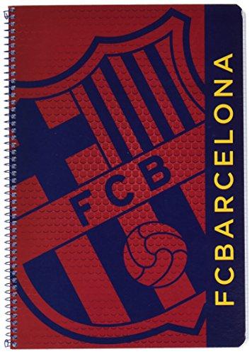 F.C Barcelona - Libreta tapas duras 80, color azul / granito (Safta 511572066)