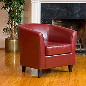 Petaluma Leather Club Chair