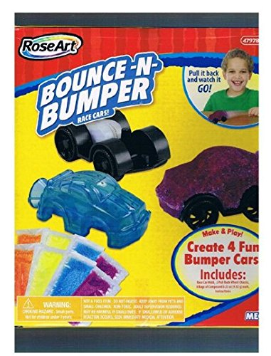 RoseArt: Make Fun Bumper Race Cars