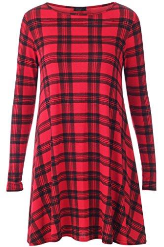 hf-girls-vestito-donna-red-m-l-42-44