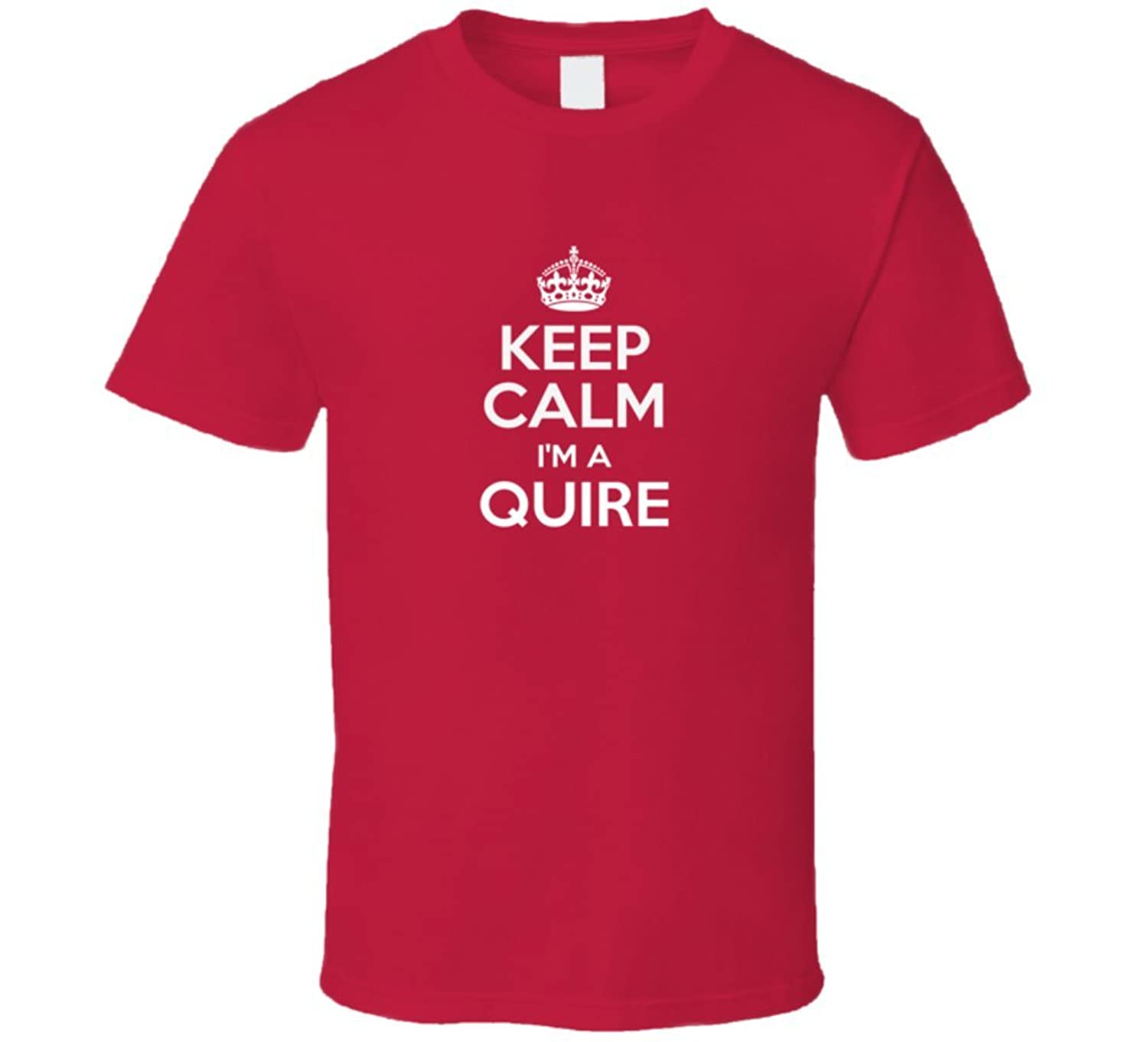 Подробнее о Quire Keep Calm Parody Family Tee T Shirt s quire станок для бритья s quire ra98black