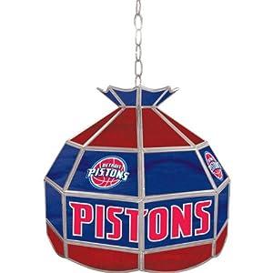 Detroit Pistons NBA 16 inch Tiffany Style Lamp Detroit Pistons NBA 16 inch Tiffany... by Trademark+Global