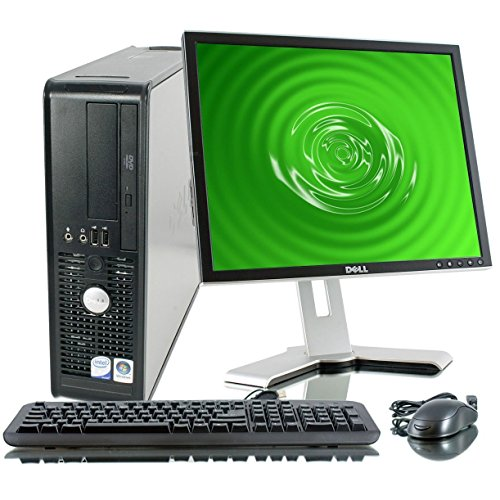 Dell OptiPlex 745 Desktop- 1TB Hard Drive- Windows 7 Professional OS- 19″ LCD Monitor, Speakers, Keyboard, & Mouse
