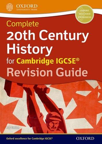 20th century history for Cambridge IGCSE. Revision guide. Con espansione online. Per le Scuole superiori (Igcse Revision Guides)
