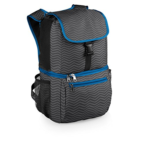 Picnic Time Pismo Insulated Cooler Backpack, Waves Collection (Beach Backpack Cooler compare prices)