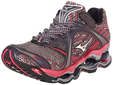 Mizuno Women's Wave Prophecy Running,Anthracite/Silver,6 W US