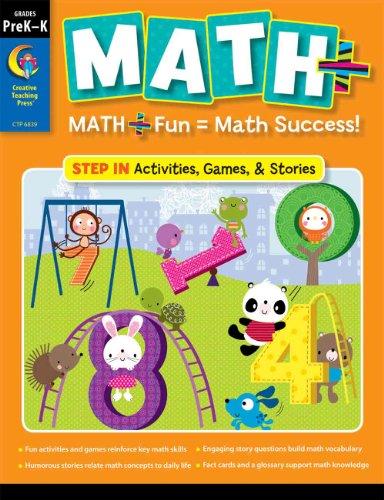 MATH PLUS: Step In Grade PreK-K
