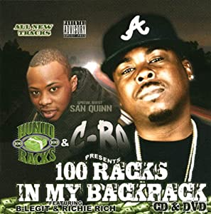 100 Racks in My Backpack