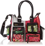 Desigual Bols London Floreada Carry, Sac bandoulière
