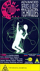 Tennis 2000 - Advanced Service & Volley Techniques From A Biomechanical Viewpoint (Volume 3) [VHS]
