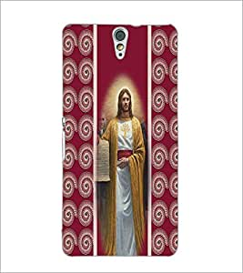 PrintDhaba Jesus D-2751 Back Case Cover for SONY XPERIA C5 ULTRA (Multi-Coloured)