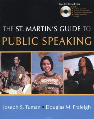 The St. Martin's Guide to Public Speaking