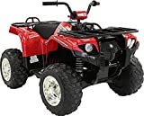 Yamaha Kids Grizzly ATV 12V Electric Ride On Quad, Red