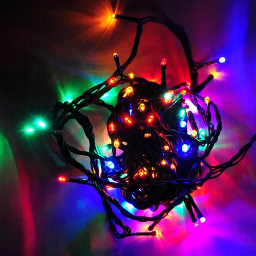 16.4 Feet 150 LED Icicle Christmas Holiday Lights