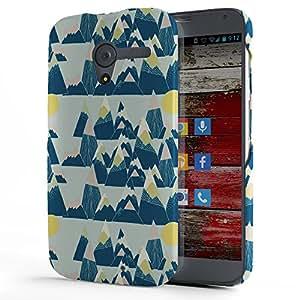 Koveru Back Cover Case for Motorola Moto X - Mountain Pattern