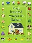 First Hundred Words in Italian (Usbor...