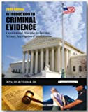 img - for 2016 CRIMINAL EVIDENCE, Intro book / textbook / text book