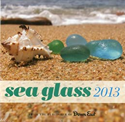 Sea Glass Wall Calendar 2013