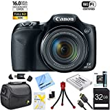 Canon-Powershot-SX530-HS-16MP-Wi-Fi-Super-Zoom-Digital-Camera-w-50x-Optical-Zoom-Ultimate-Bundle-Includes-Deluxe-Camera-Bag-32GB-Memory-Card-Extra-Battery-Tripod-Card-Reader-HDMI-Cable-and-More
