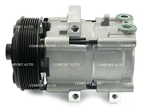 1999 2000 2001 2002 2003 2004 2006 2007 Ford F250 F350 Super Duty V8 6.0L 5.4L V10 6.8L Brand New AC Compressor With Clutch 1 year Warranty: