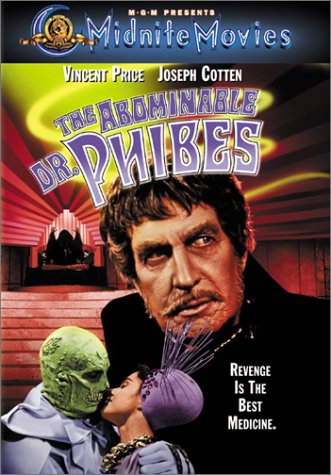 The Abominable Dr. Phibes Cover