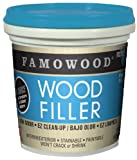 FAMOWOOD Latex Wood Filler -Natural - Pint (473mL)