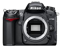 Nikon D7000 16.2MP DSLR Camera with 3.0-Inch LCD (Body Only)