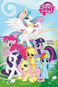 Amazon.com - Posters: My Little Pony Poster - Fluttershy, Rainbow Dash