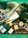 img - for A Student Guide to Research in Social Science book / textbook / text book