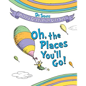 Amazon.com: Dr. Seuss Happy Graduation Gift Set: Oh the Places You ...