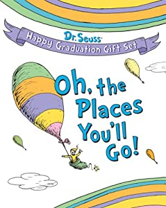 Dr. Seuss Happy Graduation Gift Set: Oh the Places You'll Go! (Dr. Seuss Novelty Sets) by