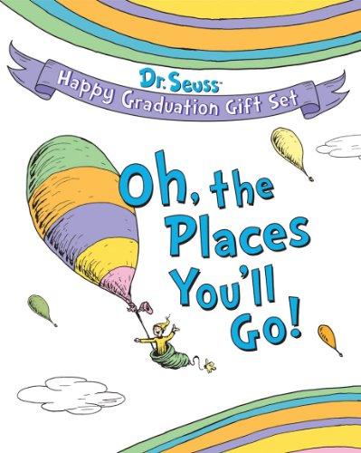 Dr. Seuss Happy Graduation Gift Set: Oh the Places You'll Go! (Dr. Seuss Novelty Sets)