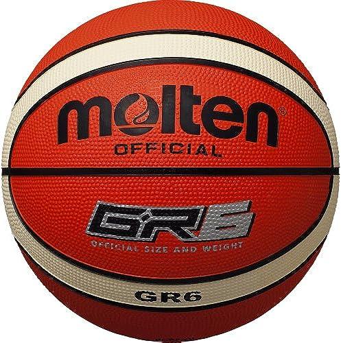 몰 텐(몰 텐) 농구 GR6 6 호공 BGR6-OI (Size:6호|Color:오렌지×아이보리)