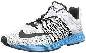 Nike Air Zoom Streak 5, Unisex-Erwachsene Laufschuhe, Weiß (White/Black-Rflct Slvr-Bl Lgn 104), 45 EU
